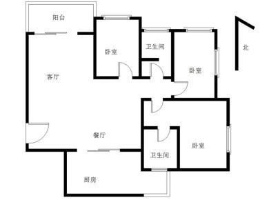 瑞景新村 正规大3房可改4房 电梯中层 全明框架