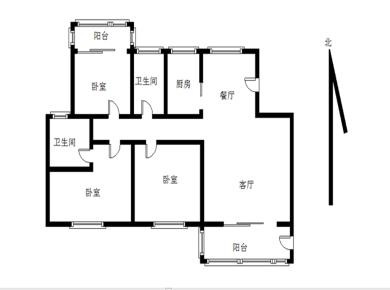 天湖南北通透大三房,稳定出售