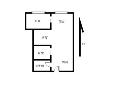 莲花路口华天花园两居室