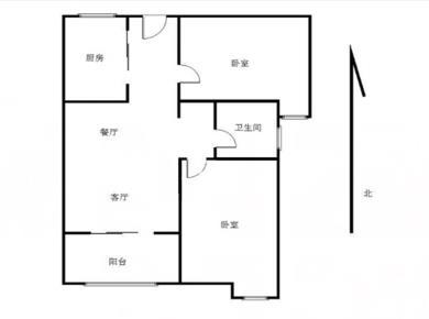 中航城C区 满两年 精装修 朝南 房子保养非常好,房东很少住