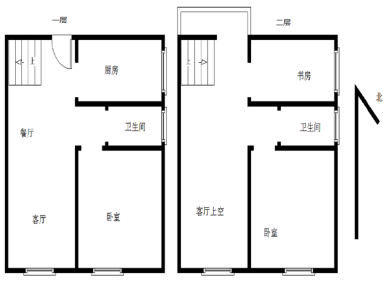 联合博学园3期毛坯4房,使用面积130平米,产权满二