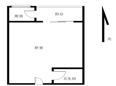 米兰春天大一房 边套户型可改两房