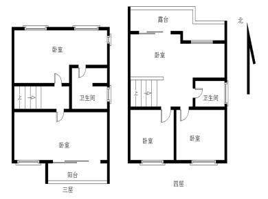 唐庄双拼5居室,满五年,看房方便,带车库,可停两部车。
