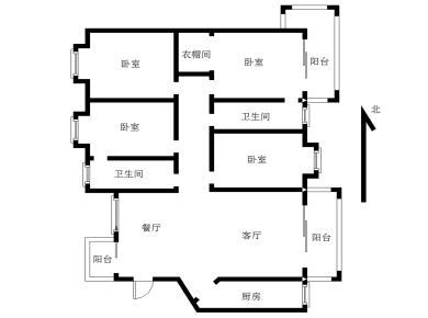 世茂湖滨首府,电梯四房,小区中庭位置,南北通透。