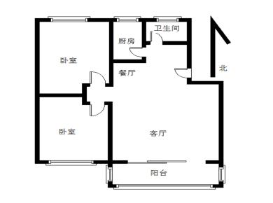 金尚2000年小区 天宇花园 精装 南北通透 中间楼层