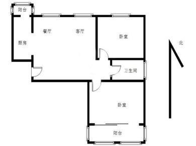 泰禾商圈 首开领翔国际 毛坯大两房 可改三房 中高楼层