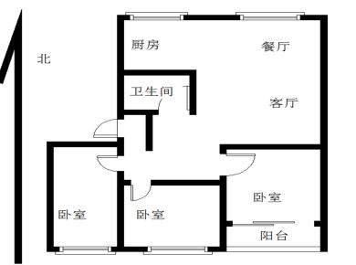 松柏特运宿舍 3正规3房出售