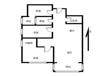 尊海精装修,3房,户型方正,朝南
