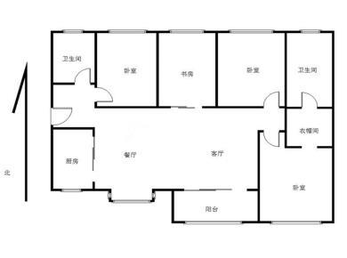 万科金域华府 中高层精装4房 南北通透 满2年 送家具电