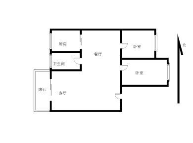 金永昌家园2房 南北 满两年 业主换房出售!