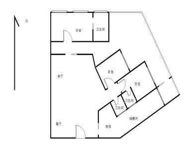 思明区,滨北,仙岳路,06年电梯正规大三房,带60平大露台.