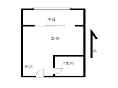 金辉园二期一居室