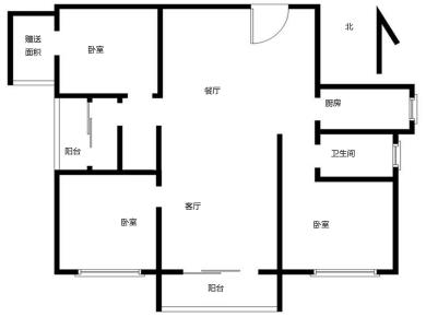 角美万达广场,单价1.3万通透三房,带入户花园,正常首付