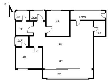 锦绣祥安,毛呸大三房,产权满五,品质小区,看房方便
