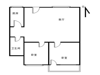 金祥大厦 居家装修 两居室
