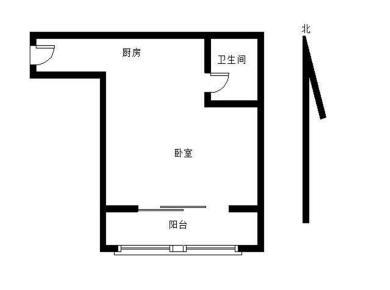 莲花路口单身公寓