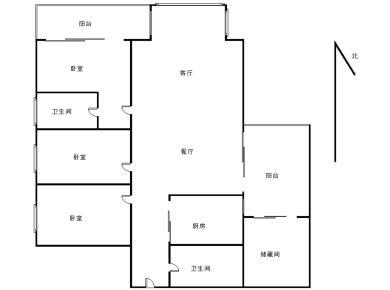 思北 华侨海景城 花园式小区 户型方正 采光好