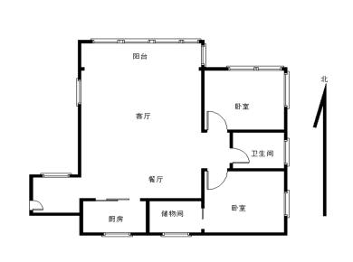 永同昌假日国际公寓2居电梯满五