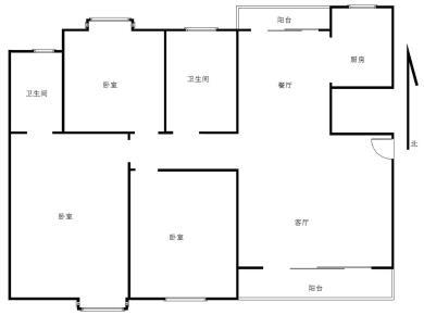 卧室搭配的很新颖,使用率之高,住家舒适