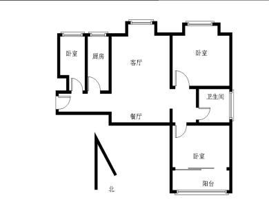 锦绣祥安精装修三房 南北通透 高楼层 看房方便