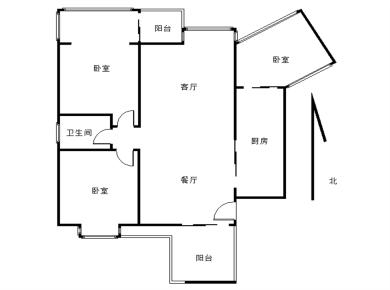 杏林锦园 聚镇小区 三室两厅