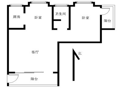 锦绣祥安,高楼层,低总价两房,看房随时