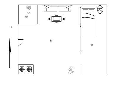 中环花园  标准一房 精装地铁房,