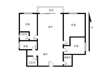 滨北小学 精装3房 户型方正 育秀中 心 双地铁 满二