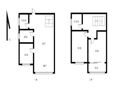 建发中央天悦 精装3房 楼中楼 朝南户型