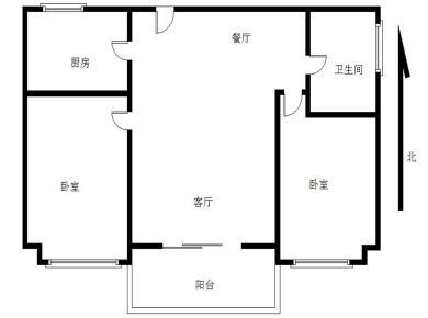 枋湖,2013年小区,东晖广场,朝南两房,精装修