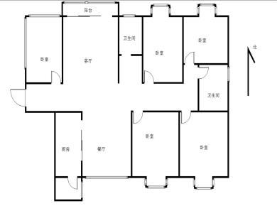 过云溪一组团,五房两厅两卫,东孚商业街