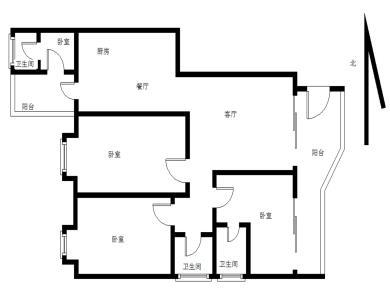 家家海景4居电梯满五