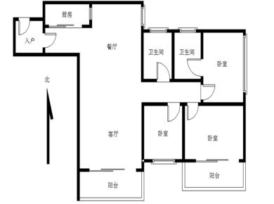 裕盛园 3室2厅