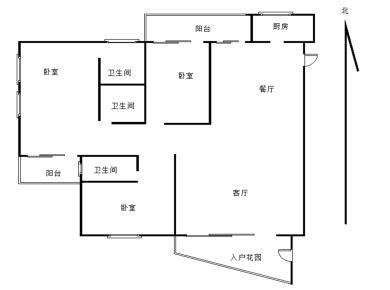 美地雅登三房 外国语 汇景商圈 文化广场旁 产权满二