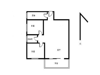 龙湖花园住家装修,电梯高层,2房一厅,