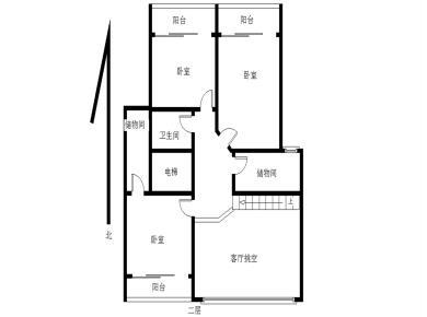 东方明珠广场 4房2厅 使用面积240平 一号地铁莲花路口站