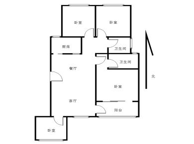 装修精致,方正四房,电梯新小区,通风采光很好