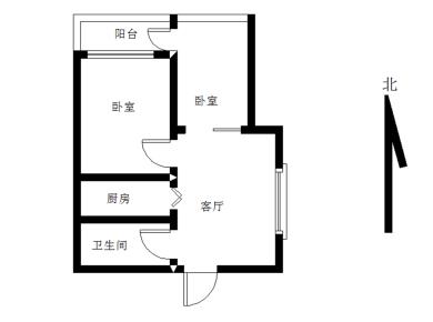 梧村小学 两房一厅 精装修