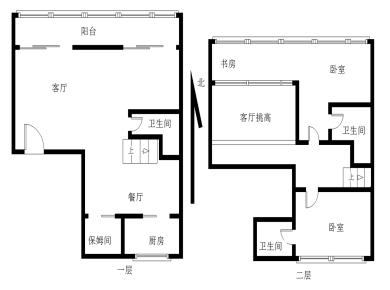 五缘湾,源昌鑫海湾,楼中楼,使用率高,高层看海景,精装修