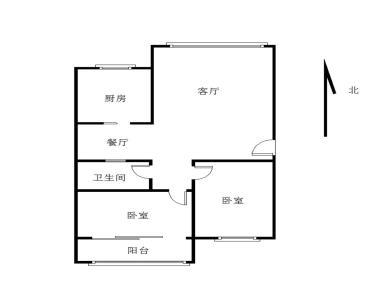 中福城 自住2房 满2年