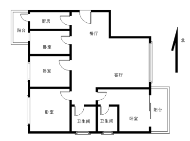 禹洲尊海,4室2厅2卫1厨1阳台急卖