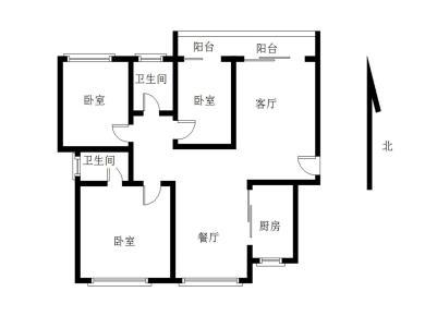 嘉盛豪园大三房