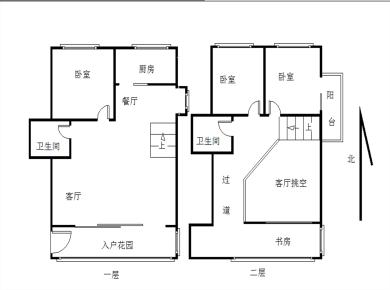 楼中楼 买一层送一层 使用大 边套三面采光 装修好 高楼层