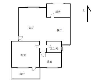 怡祥花园2房2厅 满五年 诚意出售