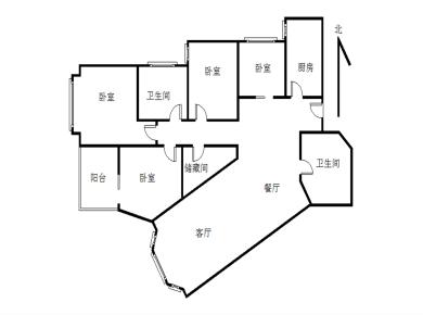 国贸金海岸 4室2厅