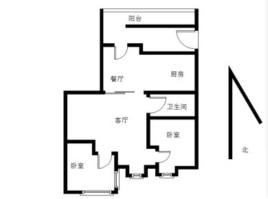 美地雅登二里自住精装  正规两房 位置安静 学位在 急售