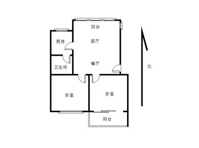 莲花一村盈翠里 2房2厅 地铁1号线莲花路口站 第二实验小学