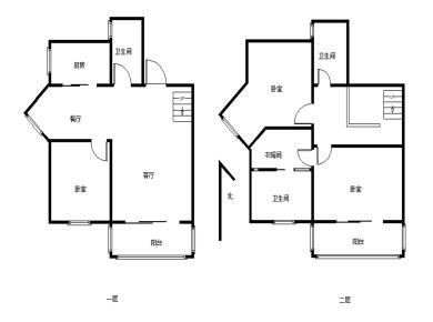 仙岳大厦,新出楼中楼,西南朝向,带2个阳台,格局方正,诚意卖