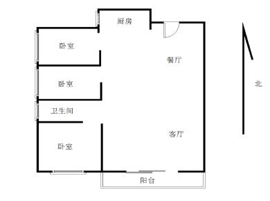 中骏蓝湾尚都三房,采光好,满两年,业主置换出售