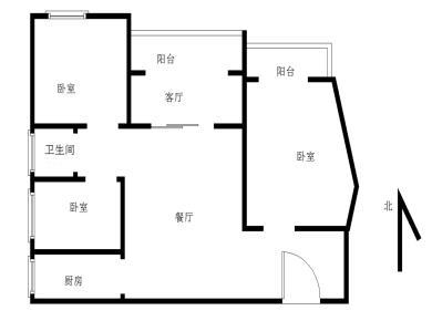禹洲大学城3居电梯满五